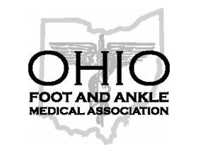 logo ohio foot ankle medical association